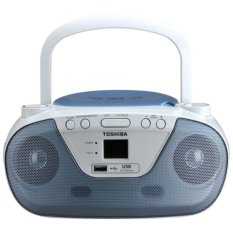 Toshiba TY-CRU8 Portable CD Radio Player - Blue