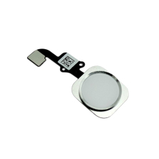 Touch ID Sensor Home Button Replacement Key Flex Ribbon Cable Assembly For IPhone 6 (White) - Intl