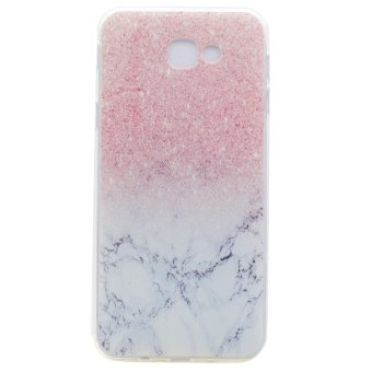 Transparent Soft TPU Slim Case Cover for Samsung Galaxy J7 Prime -Marble - intl