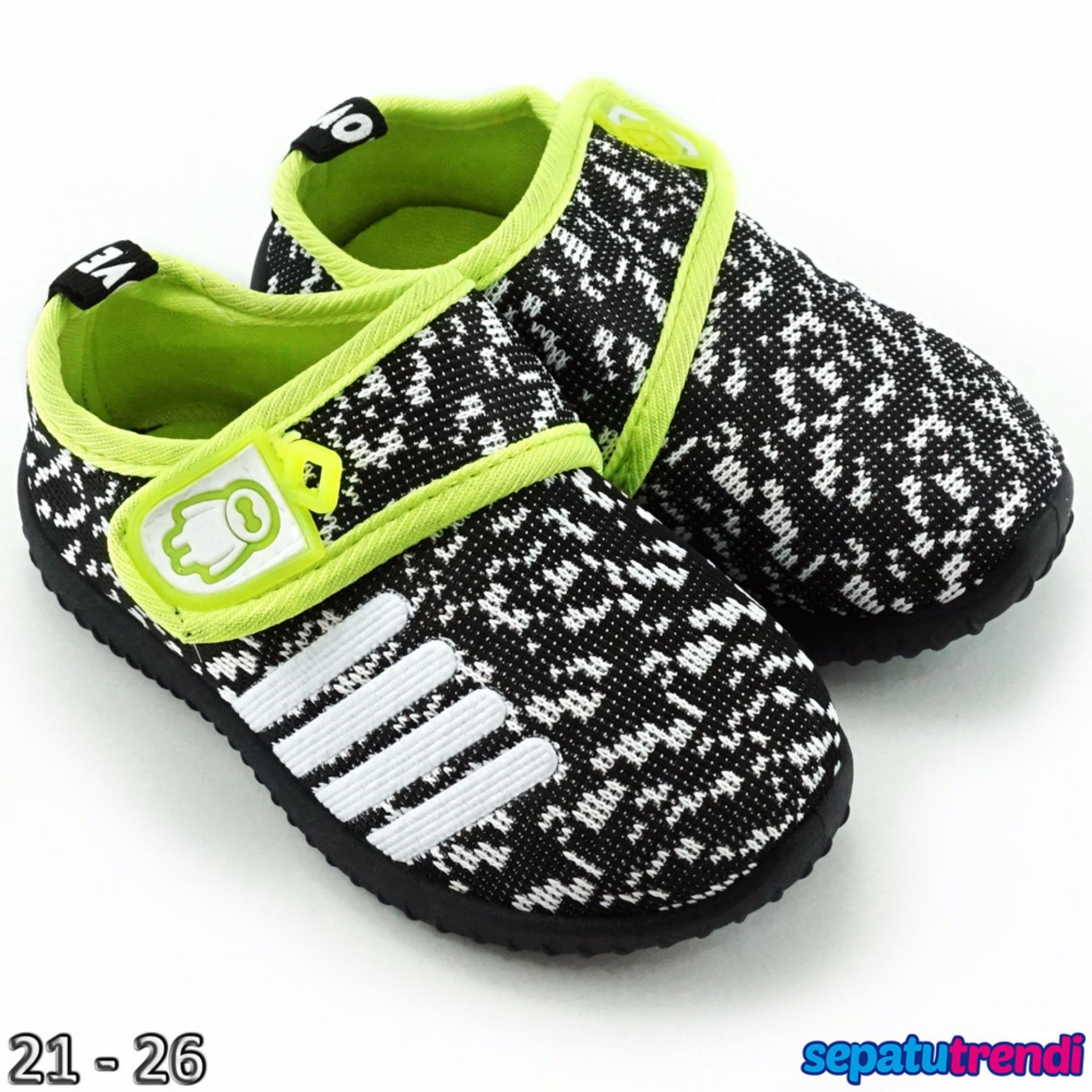 TrendiShoes Sepatu Anak Bayi Laki-Laki Import BMXA9 - Putih | Lazada Indonesia