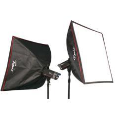 Tronic Softbox Flash - 60x60cm - Hitam
