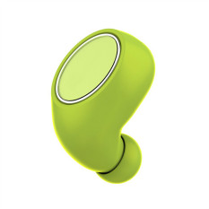 TTLIFE High Quality Newest Wireless Bluetooth Headset Ultra-small Mini-one Of The Two Stereo Earbuds Hanging Ear (Green)