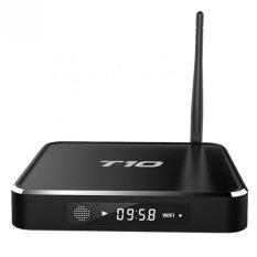 TV Box T10 Android Quad Core Amlogic S805 MXQ Kodi 16.0 WIFI 2.4G Streaming Media Player Metal Case Xbmc Internet TV Set Top Box - Black