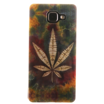 Ultra Thin Protector Fit Soft TPU Phone Back Case Cover for Samsung Galaxy A5 (2016) A510 (Maple Leaf) (Intl) - Intl