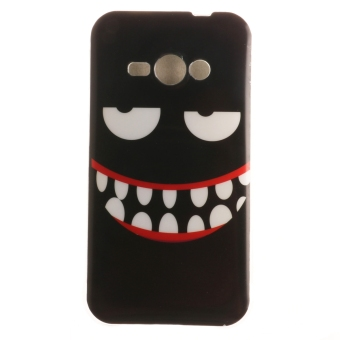 Ultra Thin Protector Fit Soft TPU Phone Back Case Cover for SamsungGalaxy J1 Ace (Smile) (Intl) - Intl