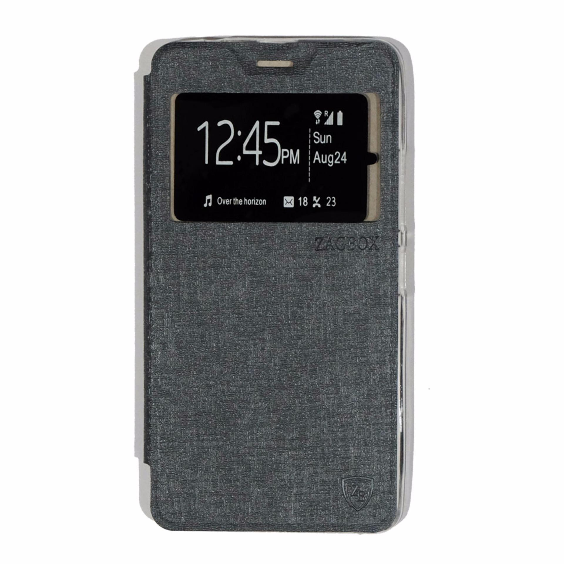 Shock Price Ume Lenovo A7700 View / Flip Cover / Flipshell / Leather Case / Sarung