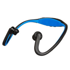 UNiQue Headset In Ear Sport MP3 Player + FM Radio Headset - Biru