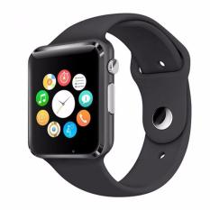 uNiQue Smart Watch A1 for iOS and Android - Strap Rubber - Black
