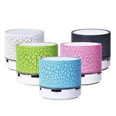 uNiQue Speaker Bluetooth S10 LED - SPEAKER S10 - S10 LED - SPEAKER LAMPU Hitam