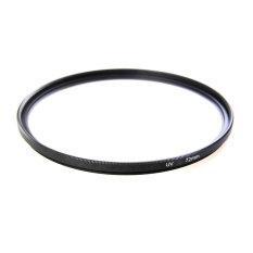 Universal Aluminum Alloy 72mm UV Protection Filter For Digital SLR Camera (Black) - Intl