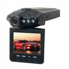 Universal Car Recorder 6 IR LED 2.5 Inch TFT Color LCD HD Car DVR Camera - PD-198 - Black