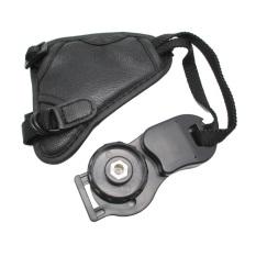 Universal Leather Camera Hand Grip III - MK02 - Black