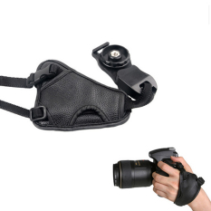 Universal PU Leather DSLR Camera Grip Wrist Strap Soft Hand Grip Camera Bag