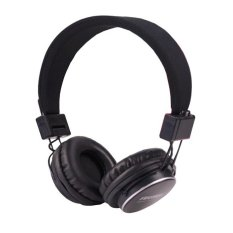 Universal Wireless Headphone Stereo Bluetooth MP3 Music Player with FM Radio - Hitam