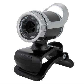 USB 12.0 Mega Pixel HD Camera Web Cam 360 MIC Clip-on For Skype Computer