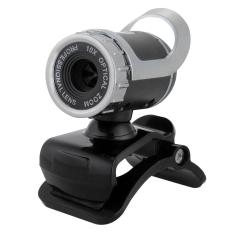 USB 50.0 Mega Pixel Webcam Web Camera with Mic For Laptop Desktop PC Black