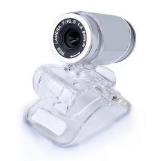 USB 50MP HD Webcam Web Cam Camera For Computer PC Laptop Desktop Silver