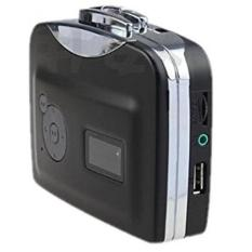 USB Casette Tape Player To MP3 Converter - EC007C - Hitam