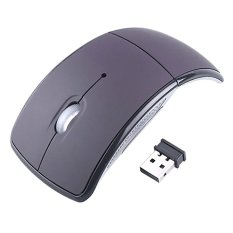 USB Wireless 2.4GHz Arc Folding Mouse For Laptop / Computer