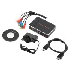 USTORE Game Video Capture HD 1080P HDMI YPBPR Recorder For Game Lovers UK Plug Black - Intl