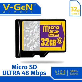 V-Gen Micro SD 32GB Class 6 Memory Card - 32 GB