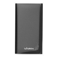 Vivan Power Bank W9 9000mAh 2 USB Ports Black