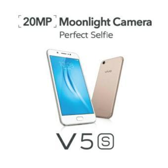 0% Vivo V5S Gold 464 - Garansi Resmi 2 Tahun