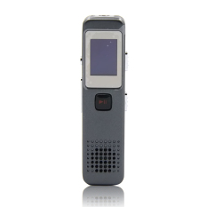 Vococal Portable Rechargeable Mini 8GB Digital Audio Voice Recorder Dictaphone Support MP3 Player And U Dish Function (Grey)