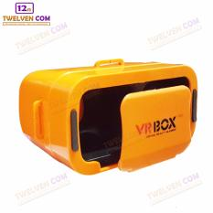 VR BOX GENERESI KE 3 - 3D Virtual Reality for Smartphone - Ukuran Lebih Kecil - Orange