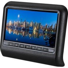 "VROOM 9"" HD LED Car Headrest DVD Player Monitor 8bit&32bit Games USB SD Multi-Language"