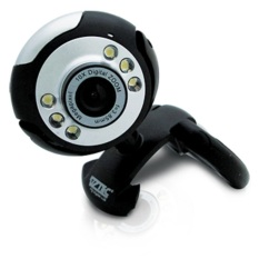 Vztec Webcam 1.3 MP With Microphone For Komputer & Laptop - VZ-WC1682