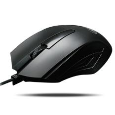 Warwolf M01 Computer Mouse Wired 3.4D Gaming Mouse Gamer Mute Button Silent Click 1000/1200/1600 DPI New Iron Man Adustable Mice - Intl