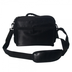 Water Proof Canvas Single-lens Reflex Camera Case Bag (Black)