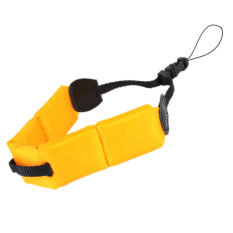 Waterproof Diving Floating Foam Wrist Armband Strap For Camera Gopro Hero 2 3.4 (Yellow)