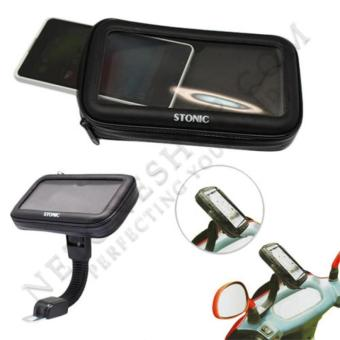 Waterproof Motorcycle Case Hp Max 5.5 Inch/ Holder Spion SepedaMotor Waterproof Bracket Hp Gps Anti Air