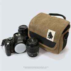 Waterproof Photography Digital SRL Camera Case Shoulder Bag For Canon SX5.650.700.100.500.550.600.1100D DSRL Camera - Intl