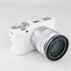 White Nice Soft Silicone Rubber Camera Protective Body Cover Case Skin For FujiFilm Fuji X-M1 X-A1 X-A2 XM1 XA1 XA2 Camera Bag (Intl) - Intl