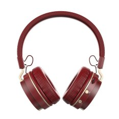 (Wine Red) ZEALOT B17 Wireless Sport Bluetooth Headsets NoiseCancelling Headfree Headphones Music Bass Wireless / Wired EarphonesSupport TF Card