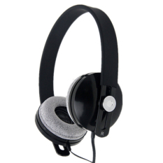 Wired Noise Isolation Over The Ear Headset (Black)