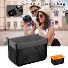 XCSource Camera Insert Bag Protect Flexible Case Partition Padded Pouch For DSLR SLR Lens Grey LF680