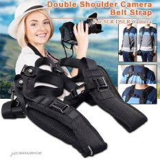XCSource Quick Rapid Double Dual Shoulder Strap Sling Belt For Two DSLR SLR Cameras