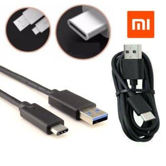 Xiaomi Cable Data USB Type C Hitam - Original