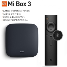 Xiaomi MI TV BOX 3 Android 6.0 Movie WIFI Google Cast Netflix Red Bull Media Player Set-top Box - intl