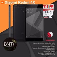 Xiaomi Redmi 4X RAM 3GB ROM 32GB - Hitam