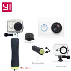Xiaomi Xiaoyi 1080P 16 megapiksel kamera olahraga dengan WiFi, BT - putih - International