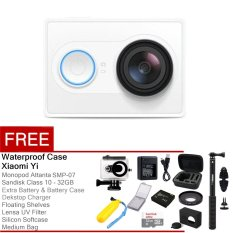 Xiaomi Yi Action Camera - 16 MP - Putih + Complete Package