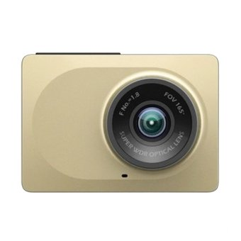 Xiaomi Yi Smart Dash Camera Car DVR International Version - Gold