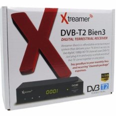 Xtreamer BIEN 3 All New Set Top Box DVB-T2 TV Digital dan Media Player + BONUS KABEL HDMI