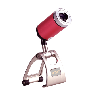 YBC High Definition Denoise And UVC Webcam With Microphone Rose Red