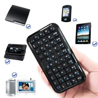 YBC Mini nirkabel Bluetooth Universal Keyboard untuk iPhone 4 G 4 S PS3 PC iPad
